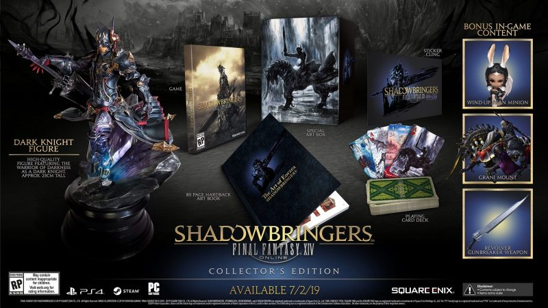 Final Fantasy XIV: Shadowbringers - Collector's Edition
