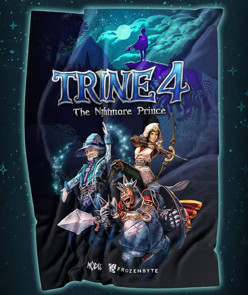Trine 4: The Nightmare Prince - Cloth Poster