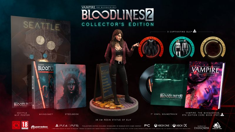 VtM: Bloodlines 2 - First Blood Pack - Collector's Edition