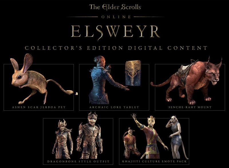 ESO: Elsweyr - Collector's Edition
