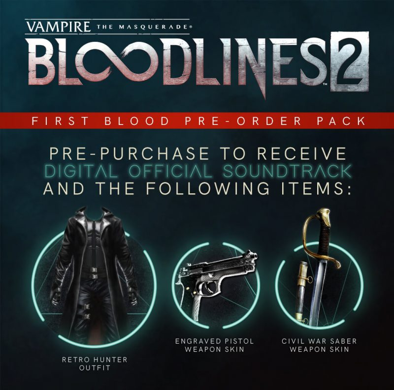 VtM: Bloodlines 2 - First Blood Pack
