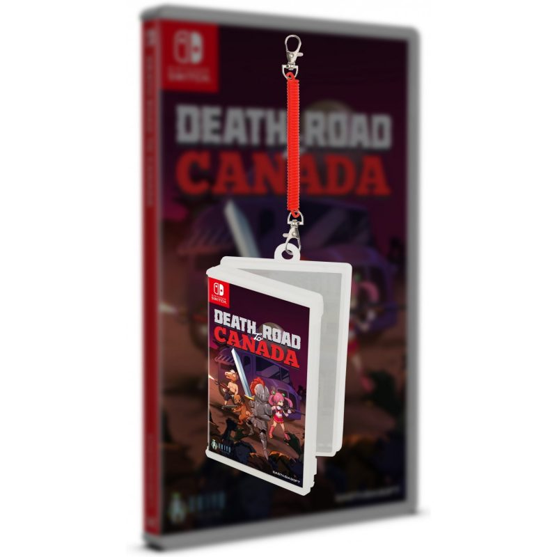 Death Road to Canada - Minicase Keychain