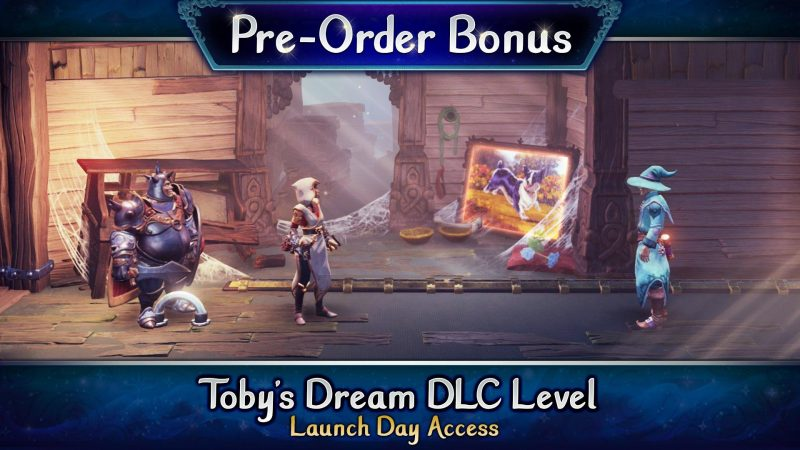 Trine 4: The Nightmare Prince - Toby's Dream DLC Level