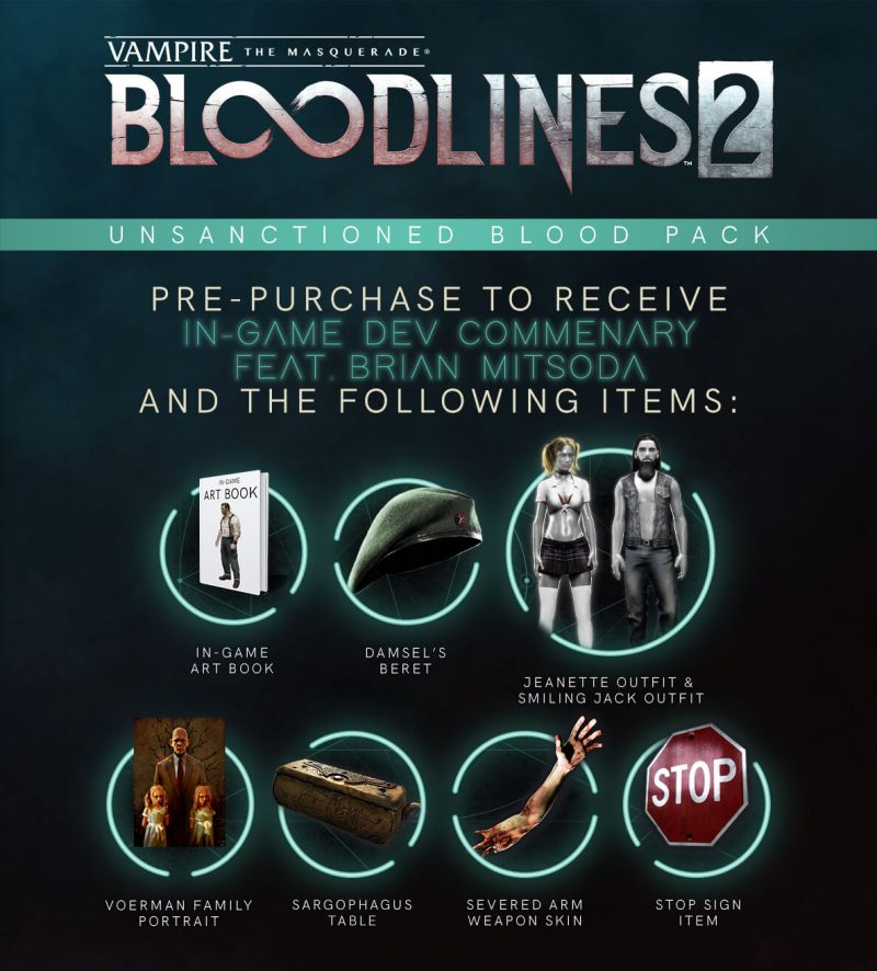 VtM: Bloodlines 2 - Unsanctioned Blood Pack