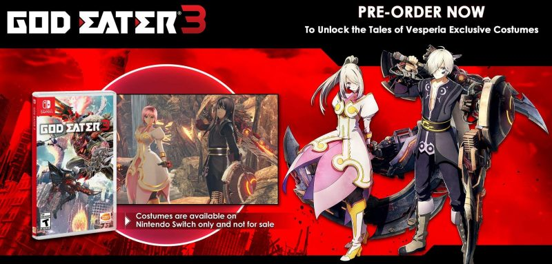 God Eater 3 - Tales of Vesperia Costumes