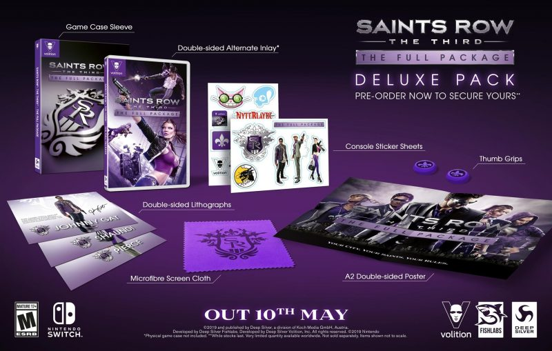 Saints Row: The Third for Switch - Deluxe Pack