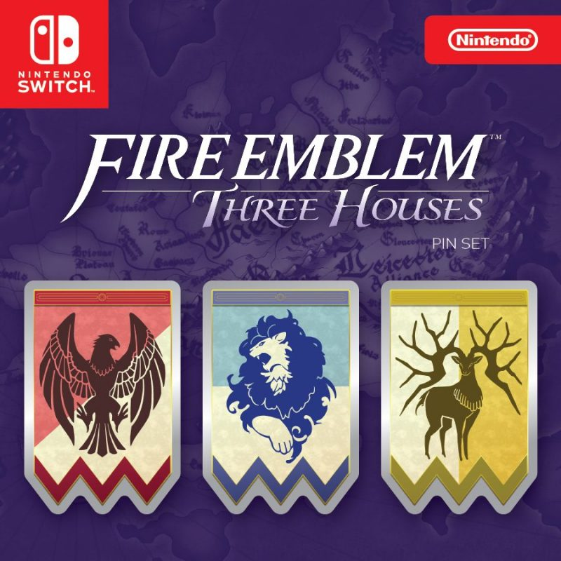 Fire Emblem: Three Houses - Pin Set