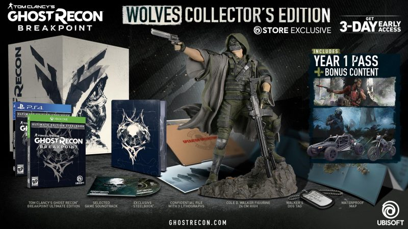 Ghost Recon Breakpoint - Wolves Collector's Edition