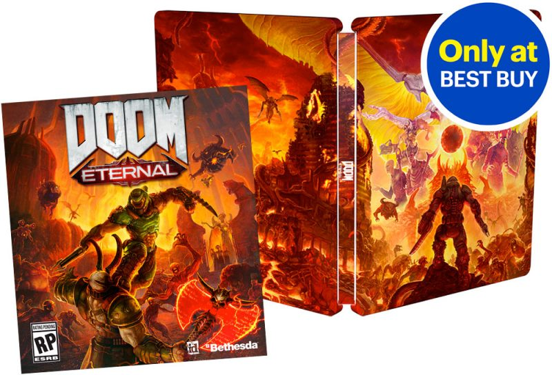 DOOM Eternal - BestBuy SteelBook