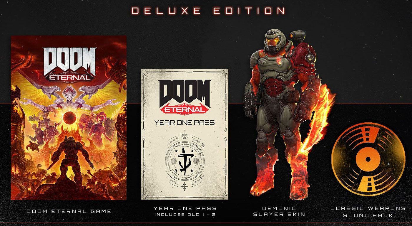 Doom Eternal Game Preorders