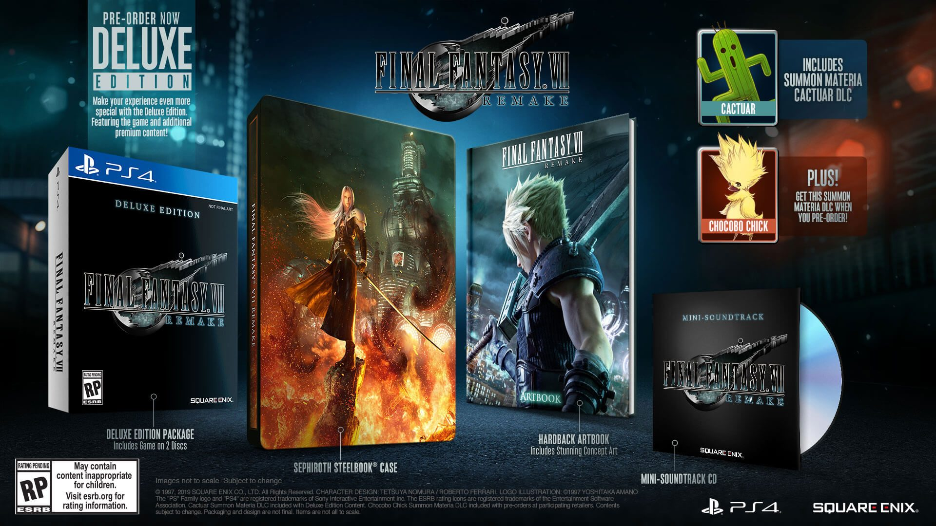 Final Fantasy VII Remake | Game Preorders