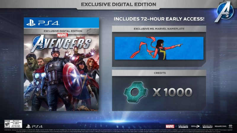 Marvel's Avengers - Exclusive Digital Edition