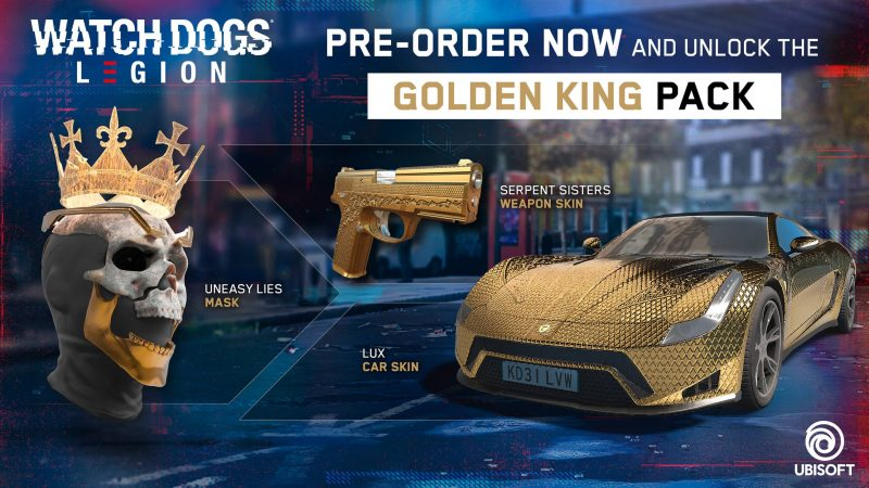 Watch Dogs: Legion - Golden King Pack