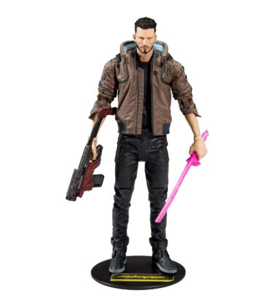 Cyberpunk 2077 - Male V Action Figure