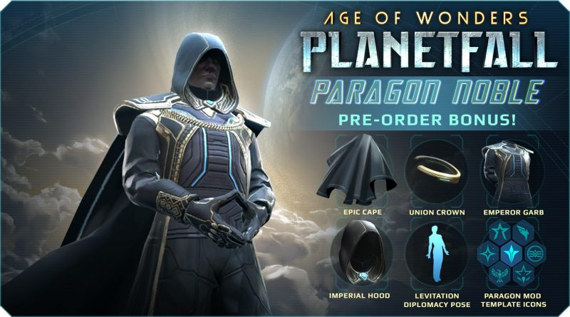 Age of Wonders: Planetfall - Paragon Noble Cosmetic Pack