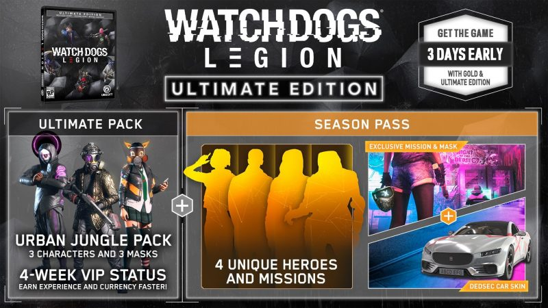 Watch Dogs: Legion - Ultimate Edition