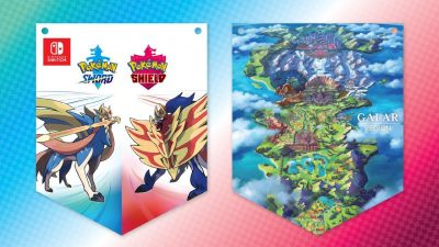 Pokémon Sword and Shield - Wall Banner