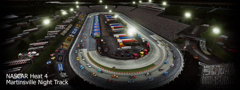 NASCAR Heat 4 - Martinsville Night Race