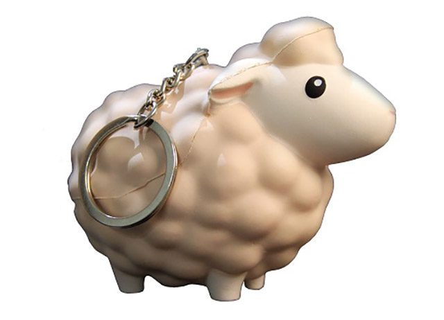 Harvest Moon: Mad Dash - Sheep Keychain