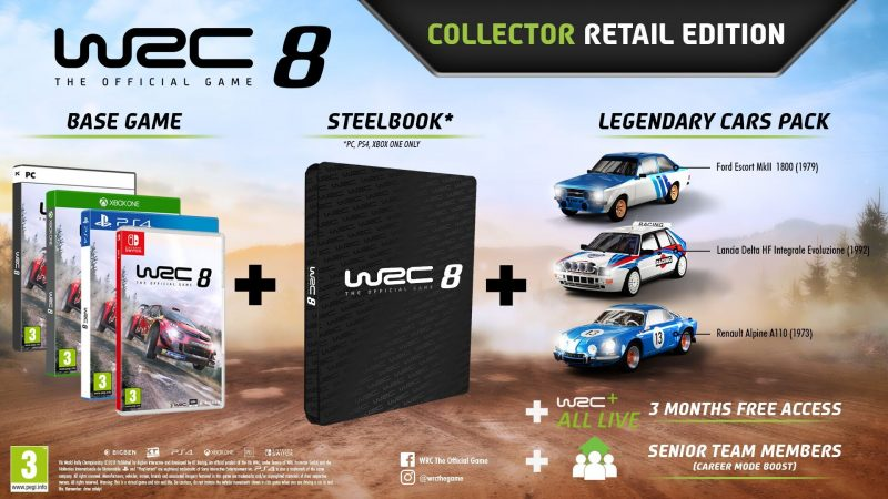WRC 8 - Collector Edition