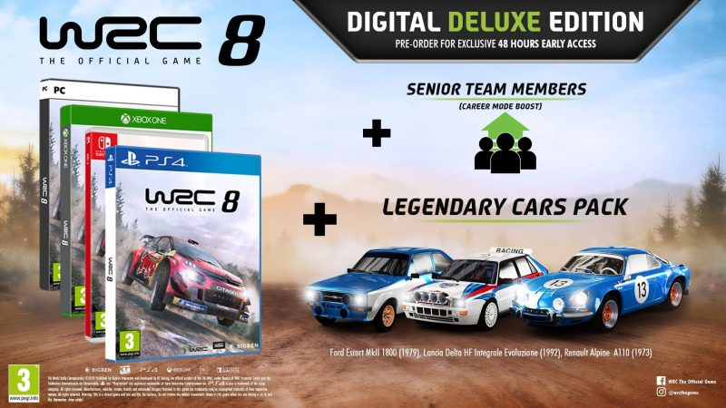 WRC 8 - Deluxe Edition