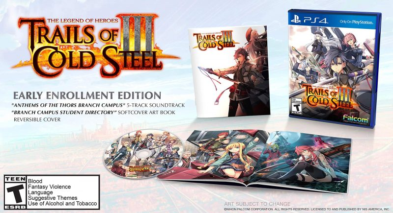 Trails of Cold Steel III - Early Enrollment Edition