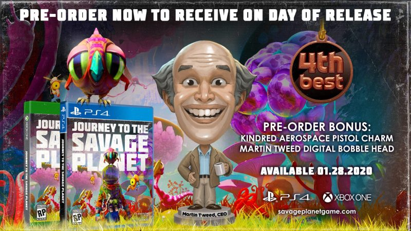 Journey to the Savage Planet - Pre-Order Bonuses
