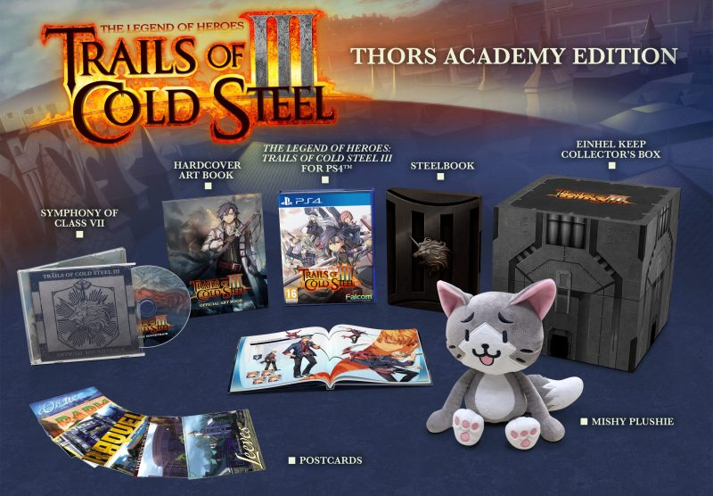 Trails of Cold Steel III - Thors Academy Edition