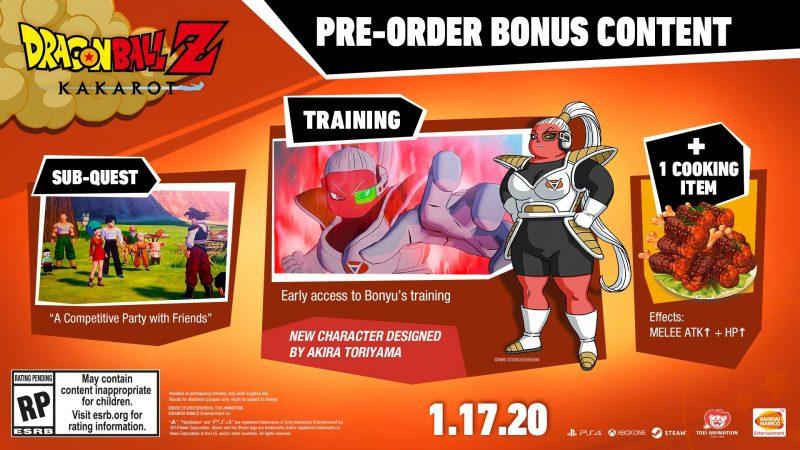Dragon Ball Z: Kakarot - Pre-Order Bonuses