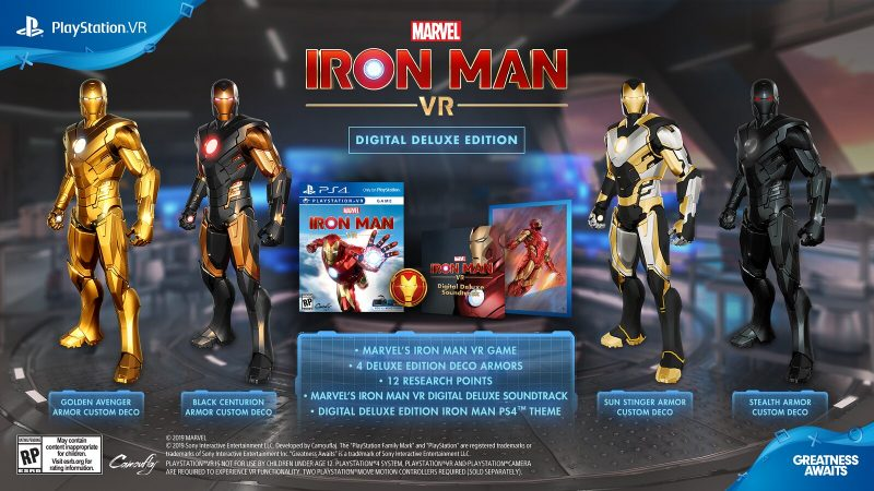 Marvel's Iron Man VR - Deluxe Edition