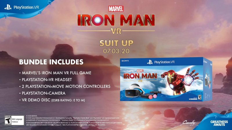 Marvel's Iron Man VR - PSVR Bundle