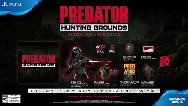 Predator: Hunting Grounds - Deluxe Edition