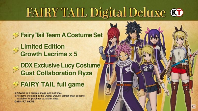 Fairy Tail - Digital Deluxe Edition