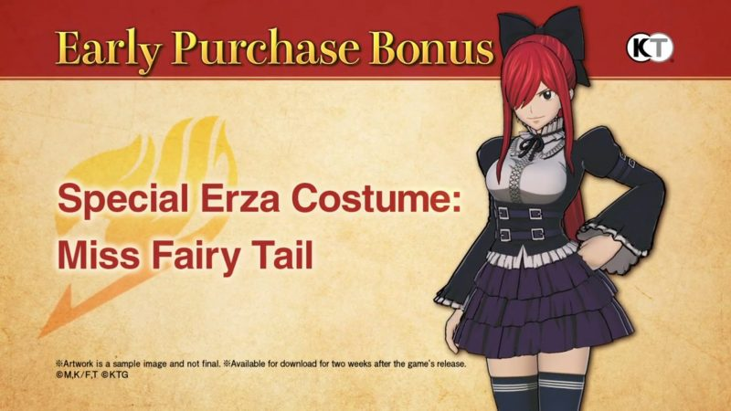 Fairy Tail - Early Purchase Bonus