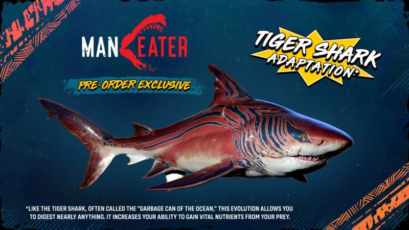 Maneater - Tiger Shark Adaptation