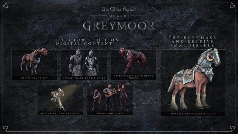 ESO: Greymoor - Digital Collector's Edition