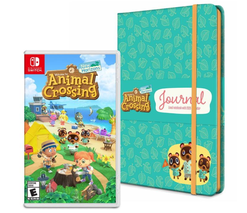 Animal Crossing: New Horizons - Notebook with 2020 Calendar