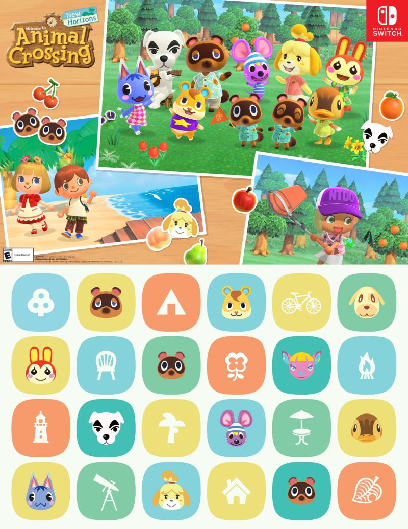 Animal Crossing: New Horizons - Double-Sided Poster