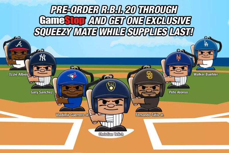 R.B.I. Baseball 20 - Squeezy Mate