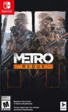 Metro Redux (Switch) Box Art