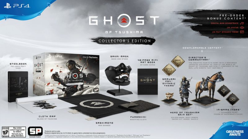 Ghost of Tsushima - Collector's Edition