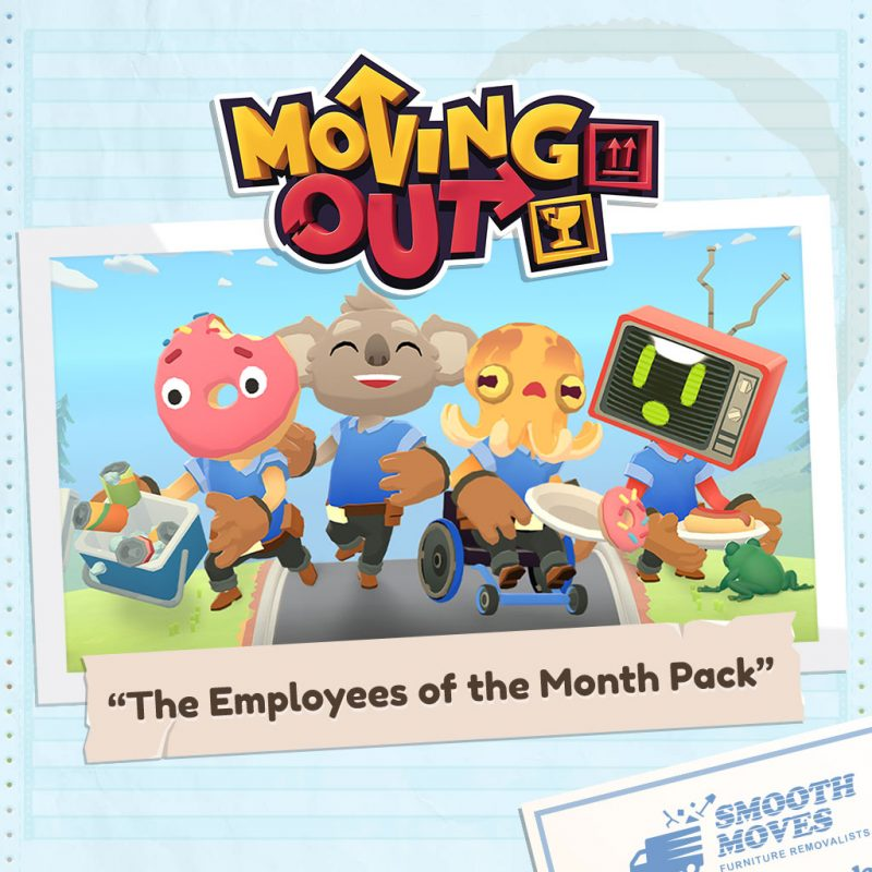 Moving Out - Employees of the Month Pack