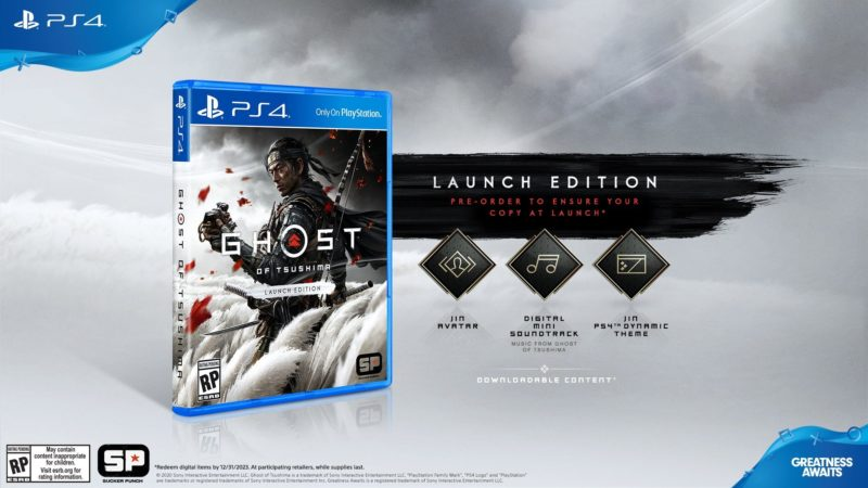Ghost of Tsushima - Launch Edition