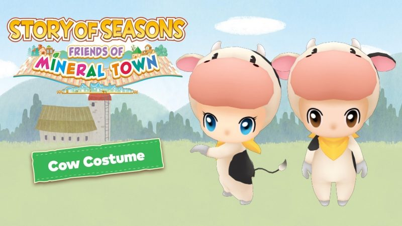 Story of Seasons: Friends of Mineral Town - Cow Costume DLC