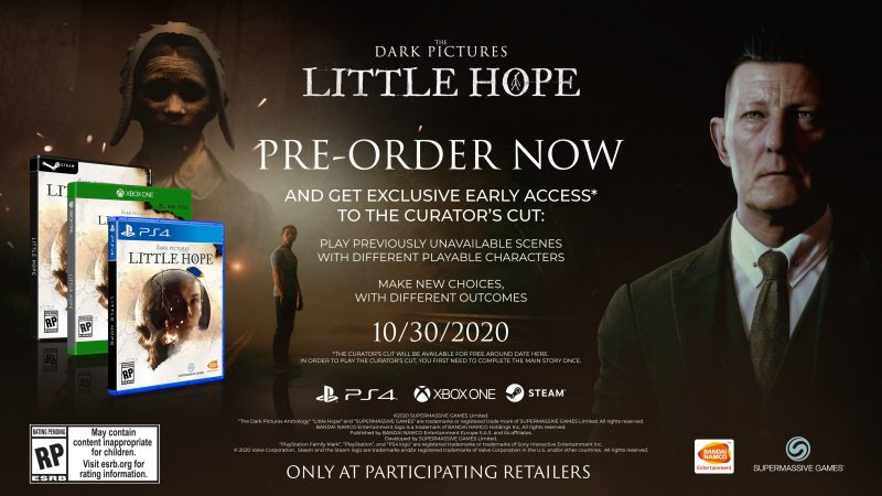 The Dark Pictures: Little Hope - Curator's Cut