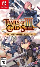 Trails of Cold Steel III (Switch) Box Art