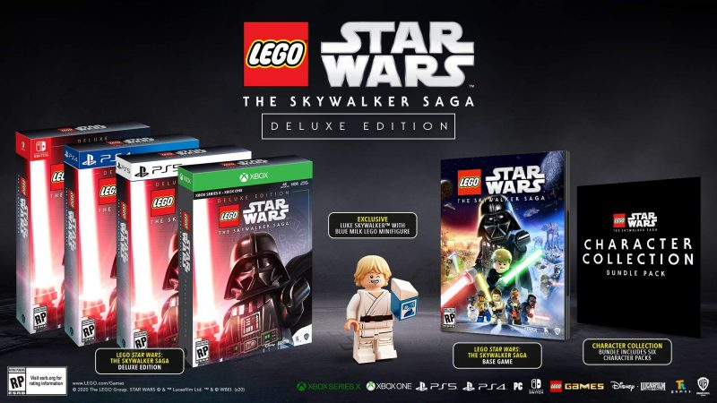 Lego Star Wars: The Skywalker Saga - Deluxe Edition