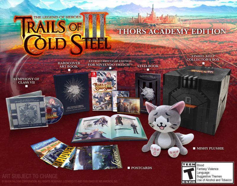 Trails of Cold Steel III (Switch) - Thors Academy Edition