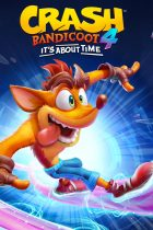 Crash Bandicoot 4: It's About Time Box Art