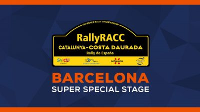 WRC 9 - Barcelona Super Special Stage